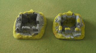 Javis Countryside Scenic Terrain JRGT05 25mm Derelict Cottages (x 2)
